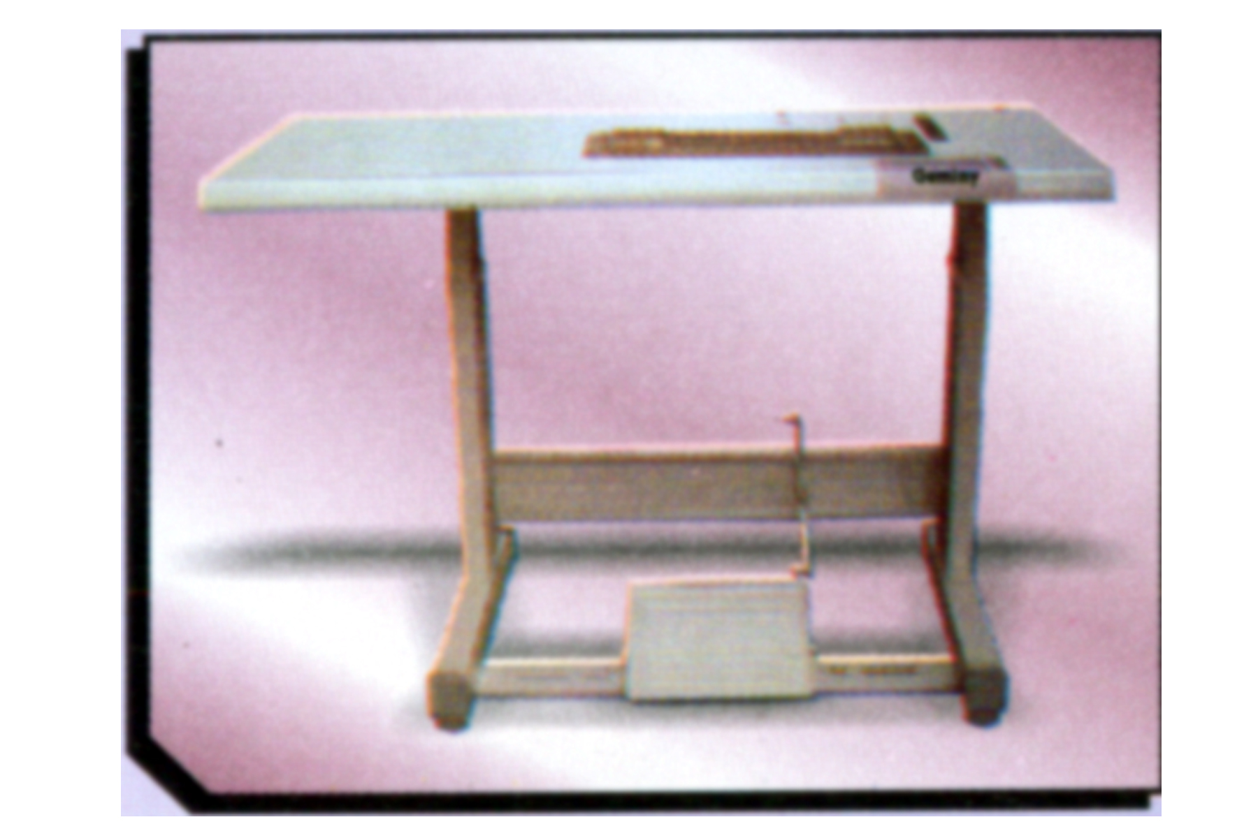 industrial sewing machine table top